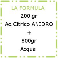formula acido citrico green mama