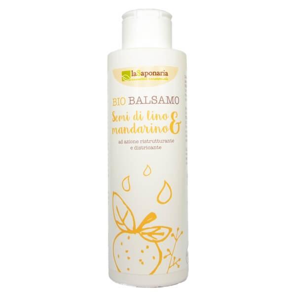 La Saponaria - Bio Balsamo Semi di Lino & Mandarino