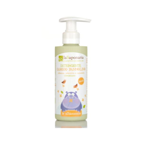 La Saponaria - Le Albicoccole - Detergente Cambio Pannolino