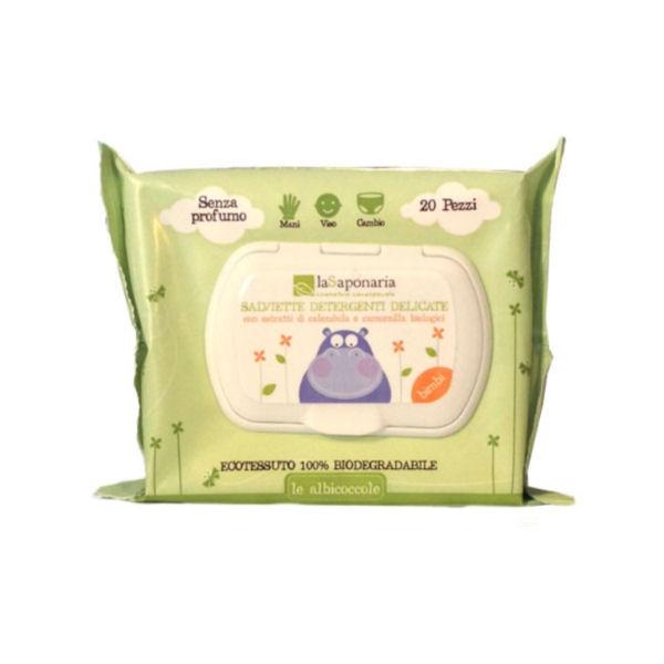 La Saponaria - Le Albicoccole - Salviette Detergenti