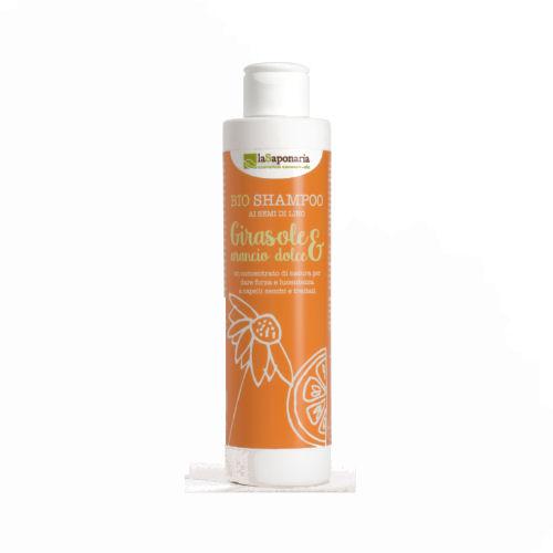 La Saponaria - Bio Shampoo Girasole e Arancio Dolce