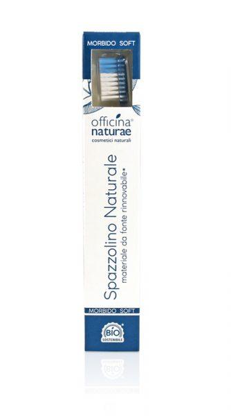 Officina Naturae - Spazzolino Naturale Morbido Azzurro