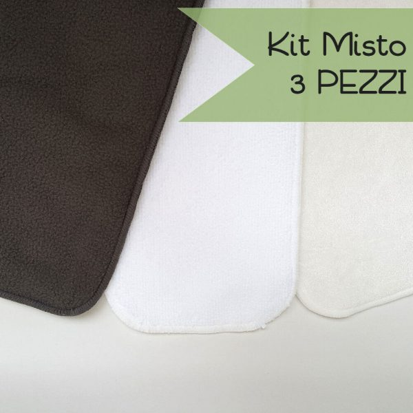 Green Mama - Kit Misto Inserti 3 PEZZI