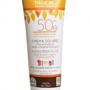 Officina Naturae - Crema Fluida Solare Protezione Baby SPF 50