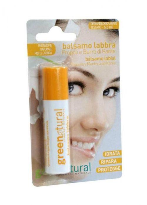 GreenNatural - Balsamo labbra alla Propoli