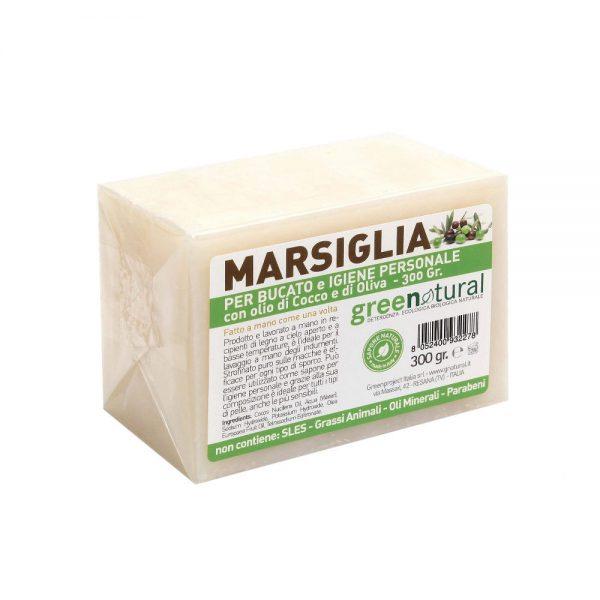 GreenNatural - Sapone di Marsiglia 300gr