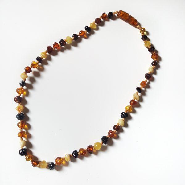 Ambra Baltica - Collana in ambra per bambino pietre medie