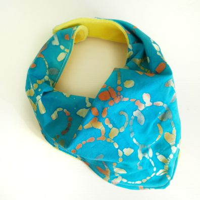 Light Blue Batik