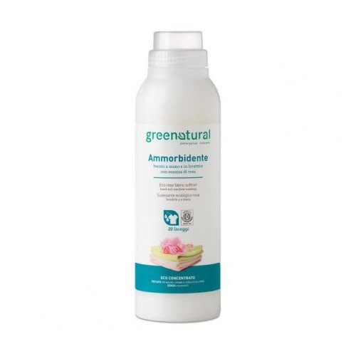 GreenNatural - Ammorbidente alla ROSA 1L