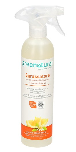 GreenNatural - Sgrassatore Tea Tree e Limone
