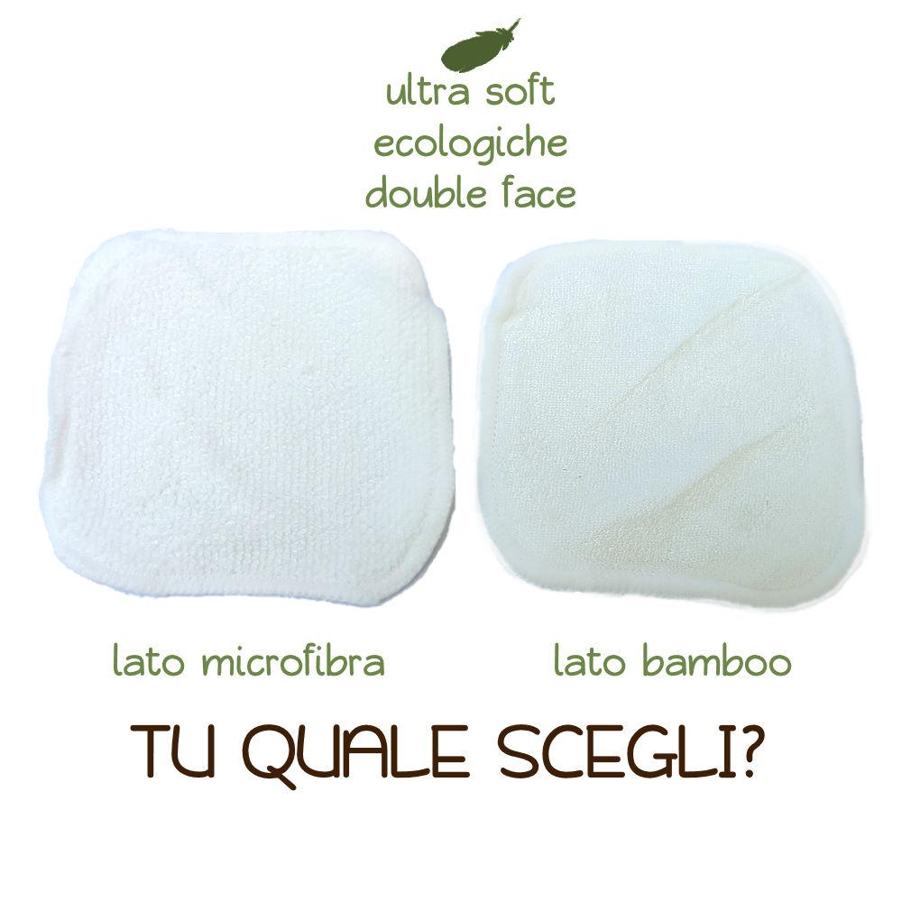 Green Mama - Quadrotti Lavabili Double Face