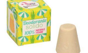 Lamazuna - Deodorante solido all'olio essenziale di palmarosa