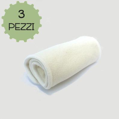 cotone canapa 3 pezzi