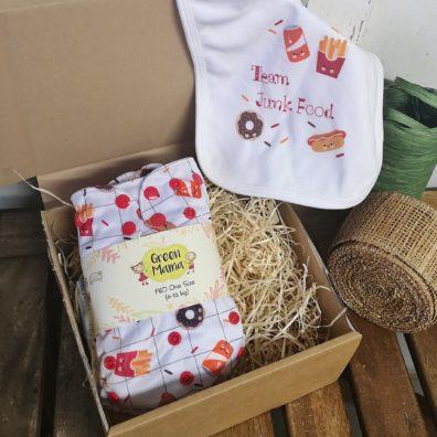 BOX REGALO JUNK FOOD & BAVAGLINO