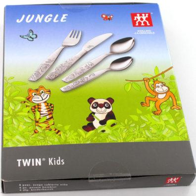 Zwilling J. A. Henckels - Posate bimbi - 4 pezzi JUNGLE