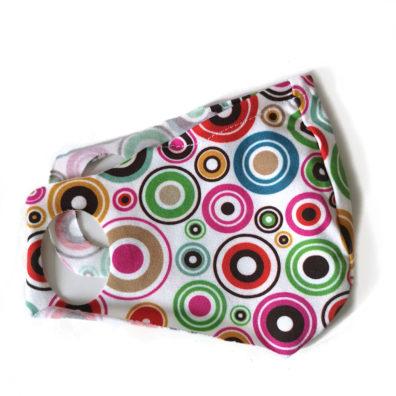 mascherina lavabile petit lulu cerchi