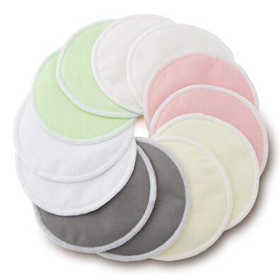 green mama coppette lavabili allattamento piatte
