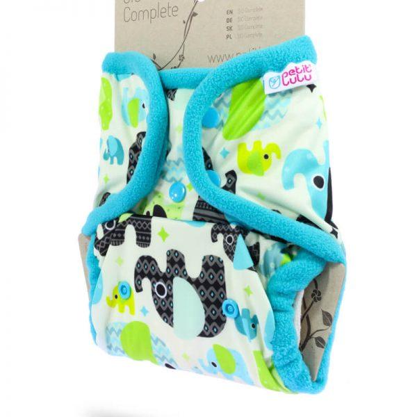 Petit Lulu - SIO Complete BOTTONI Baby Elephant Blue