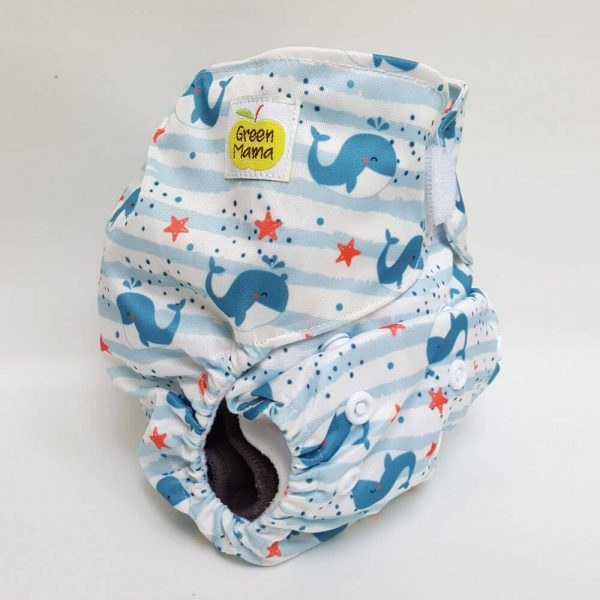 Green Mama - EASY VELCRO Pocket Seascape