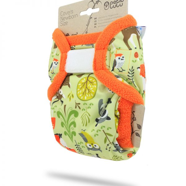 Petit Lulu - Cover Newborn Forest Animals