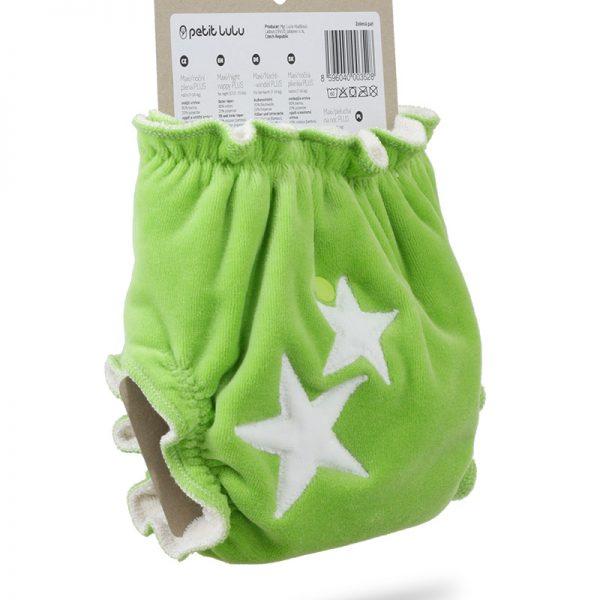 Petit Lulu - Fitted Maxi Night Bottoni Green